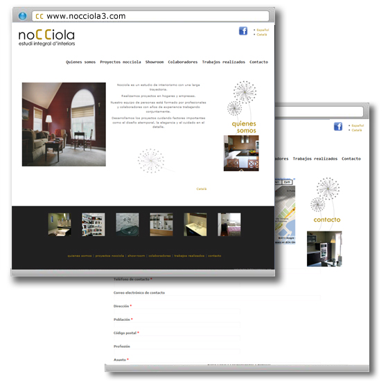 Nocciola estudio de interiorismo easy web for Programa interiorismo online